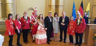 Empfang beim Ministerpräsidenten in der Magdeburger Staatskanzlei am 20.01.2019