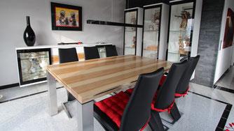 Tischlerei Nengel Lahnstein Koblenz Möbel nach Maß Esszimmer Tisch