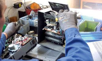 DRZ Demontage Zerlegung eines PCs