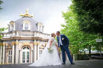 Die Besten Hochzeitsfotos im Park Ermitage Bayreuth, Russische Hochzeit in Ermitage Bayreuth, Hochzeit in Ermitage Bayreuth, Hochzeitsfotograf Ermitage Bayreuth