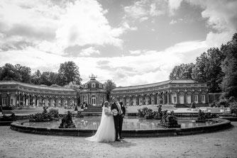 Hochzeitsfotografie in Ermitage Bayreuth, Hochzeitsfotos Ermitage Bayreuth, Fotograf Hochzeit im Ermitage Bayreuth, Coole Ideen für Hochzeitsfotos im Park Ermitage Bayreuth