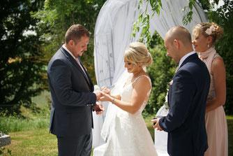 Hochzeitsfotografie Freie Trauung in Schorndorf Gut Hötzing, Freie Trauung in Bayern