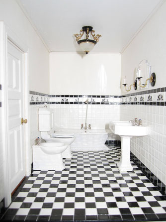 Tiled Miniature Bathroom - Art Deco