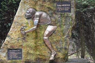 Monument Eddy Merckx, Stavelot (Bild Ben Kerckx Pixabay)