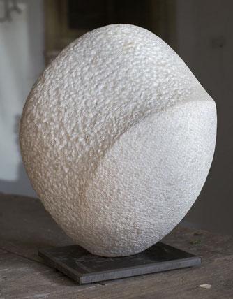 Woher-Wo-Wohin; 2006; 45cm; Marmor