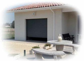 Porte de garage enroulable motorisée - C-automatique
