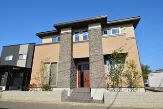 福井市に建つ既設を感じる家の建築実例