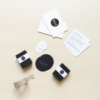 Verpackungsdesign Holzohrstecker Belle Accessoires