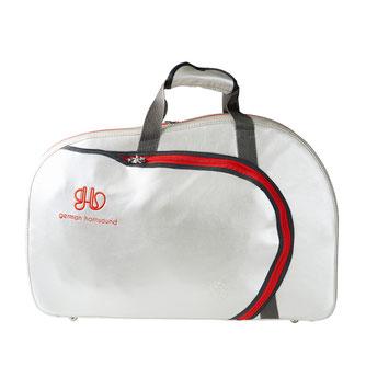 Koffer für Waldhorn mit eigener Stoffauswahl und Stick