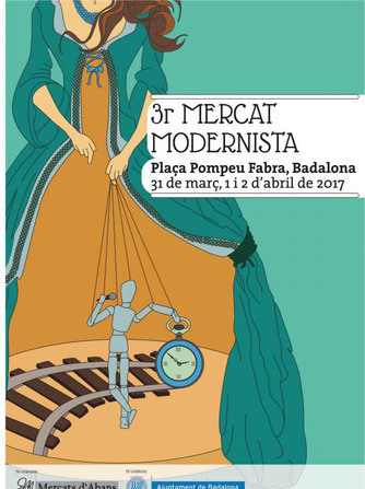 Programa de la Fira Modernista en Badalona