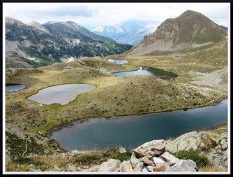 Lacs de Prals (Mercantour)