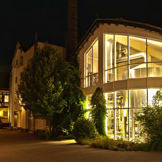 Hachenburger, Sudhaus, Abend