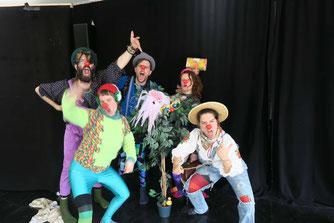 Theaterworkshop, Clownsworkshop Kempten Allgäu, Ferienbetreuung, Buntinade, Theater in Kempten, Kindertheater, Clownerie, Theatergruppe Kempten
