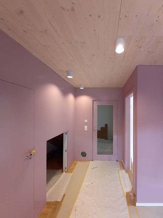 'Entree im neuen Wohnhaus in Zeglingen' 04'21