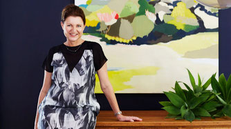 Suzanne Gorman in her Willoughby home