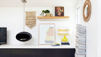 """Gorman says her personal style is very """"Sydney-relaxed"""" and her house reflects this."""