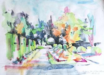 musée des beaux arts de tours, severine saint-maurice, lescerclesdelumiere.com, dessin, dessin en plein air