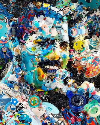 FREDDIE MERCURY / Art Installation, toy recycled by ©RafaelEspitia
