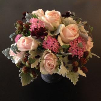 ピンクの花5000円オーダーメイドフラワー