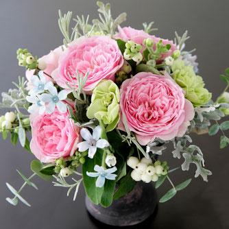 ピンクの花3500円オーダーメイドフラワー