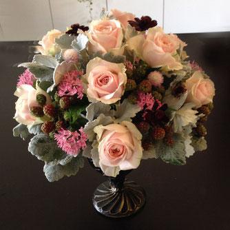 ピンクの花8500円オーダーメイドフラワー