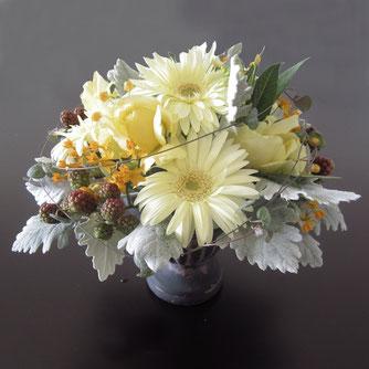 黄色の花5000円オーダーメイドフラワー