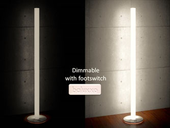Dimmable with footswitch