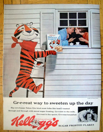 Leo Burnett e la pubblicità Tony the Tiger