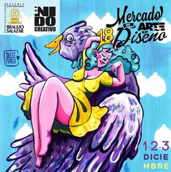 Mercado de Arte y Diseño, Edición 18 - El Nido Creativo