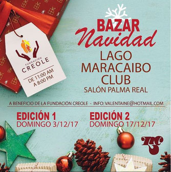 Bazar Navidad - Fundación Creole