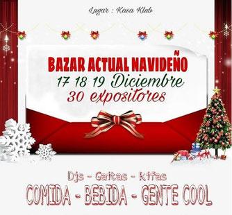 Bazar Actual Navideño - Diciembre 2017