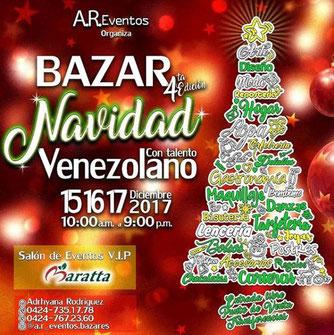 Bazar Navidad A.R. Eventos - 4ta Edición