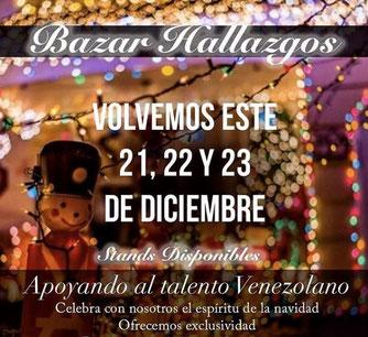 Bazar Hallazgos Navidad 2017