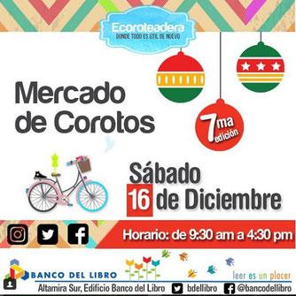 Ecoroteadera, Mercado de Corotos - 7ma Edición