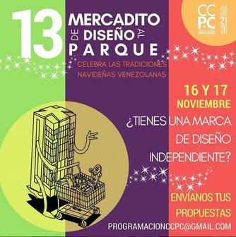 Mercadito de Diseño al Parque - Edición 13