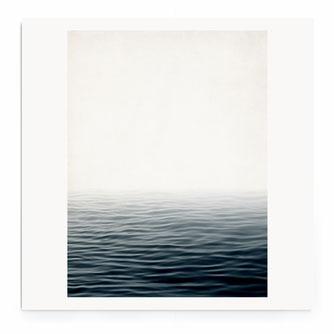 """Misty Sea"" Art Print von Lena Weisbek"