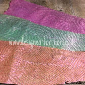 FIschleder für Trense, Sidepull, Hackamore oder Hundehalsband
