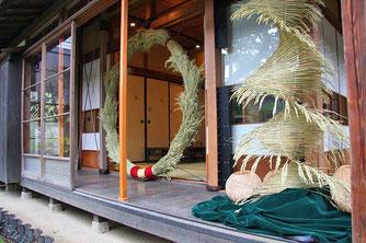 小澤邸で展示会