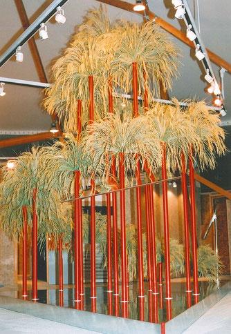 稲(青刈り米)のオブジェ