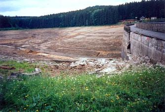 Bild: Wünschendorf Erzgebirge Sanierung Talsperre