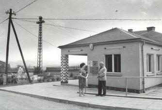 Bild: Postwesen Wünschendorf 1971