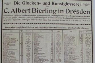 Bild: Glocke Bierling Wünschendorf
