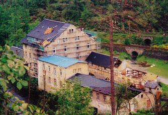 Bild: Wünschendorf Erzgebirge Voglemühle 2001