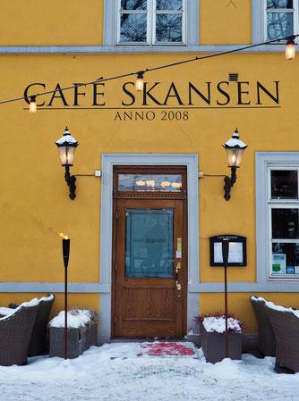 Oslo, Old Town, Café Skansen