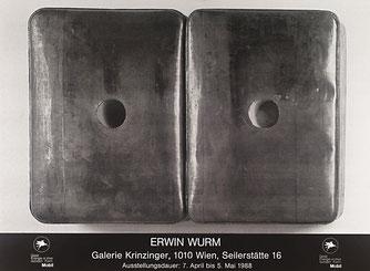 Erwin Wurm Plakat (Poster)