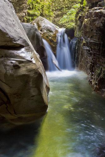 Orrido di Botri - Kalksteinfelsschlucht in der Toskana