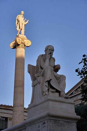 Statua di Socrate