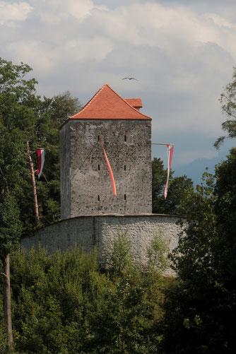 Strättligburg, Wahrzeichen Burgergemeinde Strättligen