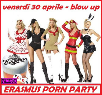Porn party Blow up 30-04-2010
