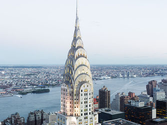 "Josef Hoflehner, ""Chrysler Building, New York"", 2012, 110 x 150 cm, Auflage: Edition 9 Stück"